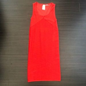 MAX red bodycon dress